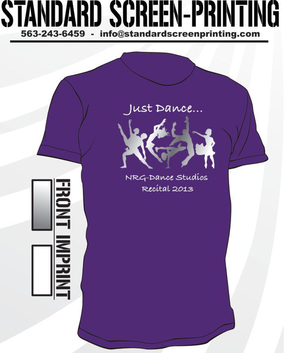 Dance Competition T Shirt Designs